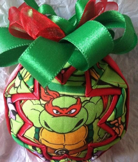 Superhero Ornament Teenage Mutant Ninja Turtles Ornament