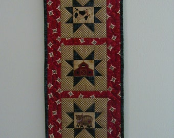Quilted Wall Hanging - Farm (UNWHG)