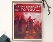 Rock N' Roll Birthday Card