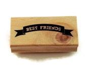 Rubber Stamp - Best Friends
