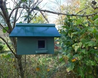 Poppi's Green Sage Birdhouse