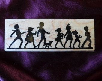 It's A Parade Rubber Stamp