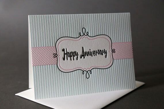 "Retro Frame ""Happy Anniversary"""