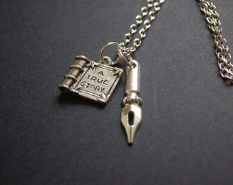 A writer's true story necklace