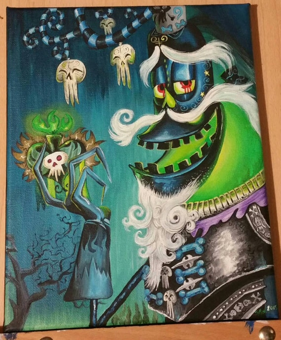 Xibalba the book of life by ButterflyCreation on Etsy