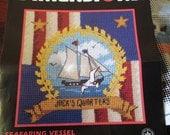 Beginners Needlepoint Kit Seafaring Vessel Dimensions 7182