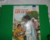 1992 Stories from the Life of Jesus Large Hardback book Printed in Spain