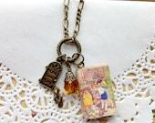 The Magic Faraway Tree mini book and charm necklace  - Enid Blyton