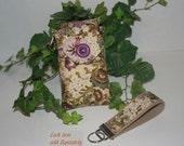Smartphone case ,Phone Purse, Fabric cases,  Droid case, iPod touch case, iPhone 5 case, iPhone 4-4s case, iPhone Case, Blackberry