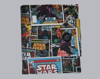 Handmade, Fabric iPad bag, iPad cover, iPad 2 Case, Case for iPad, iPad case, Custom iPad, Star Wars