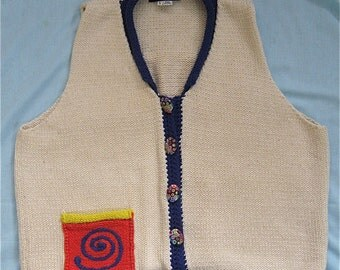 Ani Barrie Button Down Sweater Vest