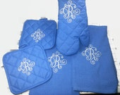Deluxe Monogrammed Kitchen Set