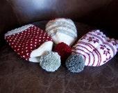 1 Pattern 3 Hats PDF Knitting Pattern