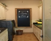Laundry Room with Ornate Frame Wall Decal