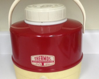 Vintage Thermos brand picnic jug