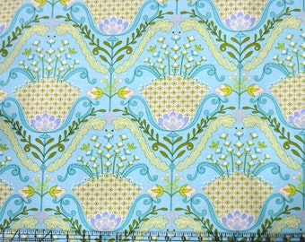 Hyacinth in Aqua for the Little Azalea Collection by Dena Designs