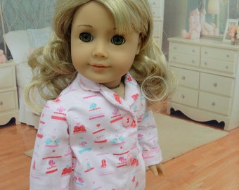 Twitterpated - Pajamas for American Girl doll