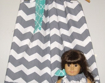Doll and me dress american girl doll clothing 3, 6, 9 12, 18 month, 2t, 3t, 4t, 5t,6,7,8,10,12