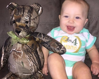 Realtree camo teddy bear