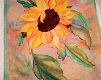 "SUNFLOWER Wall Hanging (18"" x 22.5"")"