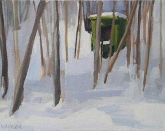 Winter Morning - original oil painting