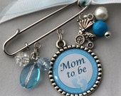 Mom To Be Pin, Grandma To Be Pin, Personalized Gift, Mommy To Be,Granny To Be, Pin Brooch, Birth Announcement