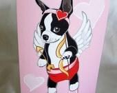 Cupid Boston Greeting Card