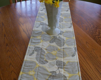 Midwest Modern Amy Butler Optic Blossom Linen Table Runner Kitchen Dining Room Home Decor Handmade Reversible