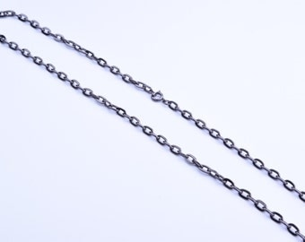 "24"" curb Chain, spring clasp"