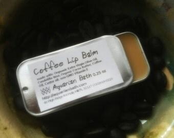 Coffee Lip Balm - Lip Balm Tin - Vegan Lip Balm