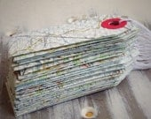 Vintage Map Gift Tags - English Map 1959 - Set of 10 Repurposed Map Gift Tags