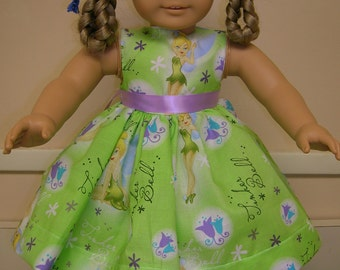 Fairy Dress for American Girl Doll or Bitty Baby