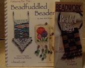 2 Books: Beaded Bags and Beadfuddled Beader
