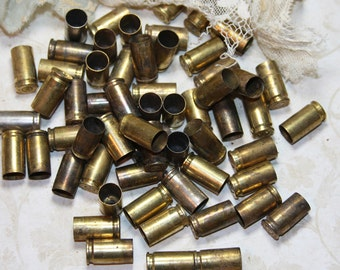 BULLET Casings- Gun- Bullet Shells (10) Repurpose for Jewelry or Art Supply