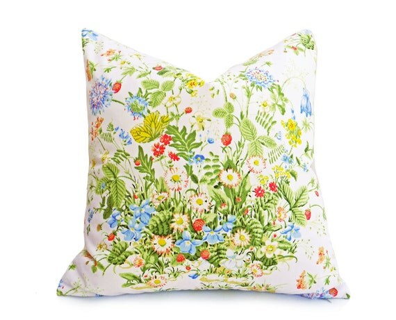 Floral Shabby Chic Pillow Covers Romantic Country Pillows