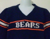 Chicago Bears Child Sweater, size 4T -6