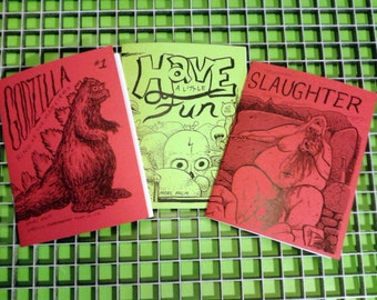 3 new wave comics for cheap!!!