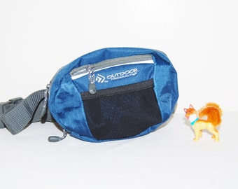 Vintage Fanny Pack Outdoor Blue