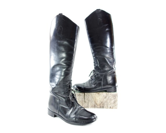 Vintage Riding Boot 39