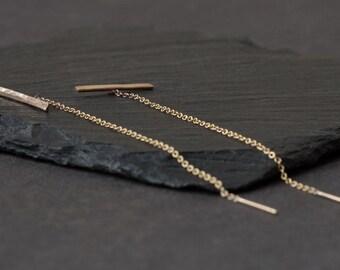Linea Thread Earrings