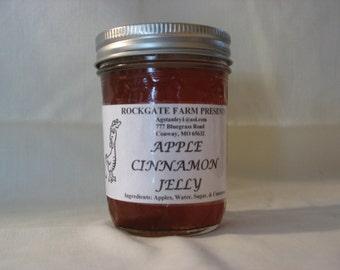 Apple-Cinnamon Jelly, 8oz 1/2 Pint