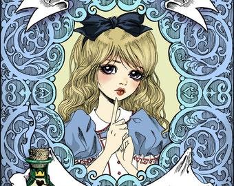 Alice's Improved WonderTonic Poster