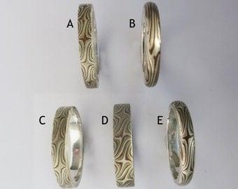 Mokume Gan Size 6.5 Ring