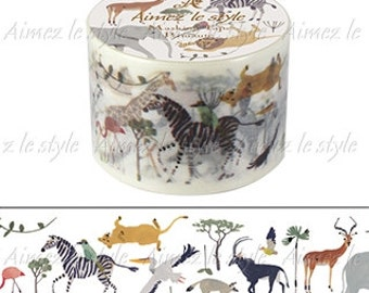 Aimez le Style Washi Masking Tape - Safari / Fairy Tale Forest