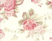 Creamy White Floral 3 Sisters Favorites 2014 Fabric - Moda - 3 Sisters - 3765 11