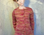 Zaoll BJD sweater Desert Rose