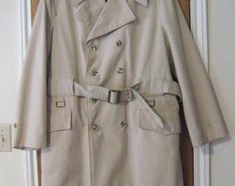 Vintage Men's Trench Coat by Juilliard