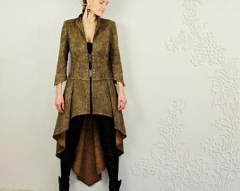 Alluriqueen -  elegant unique longback jacket.