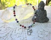 Chakra OM necklace to balance your Chakras
