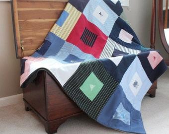 Custom Golf Shirt Blanket - Polo Shirt Blanket